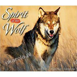 Kalendarz biurkowy Wilki Spirit of the Wolf 2021 Box Calendar Pozostałe