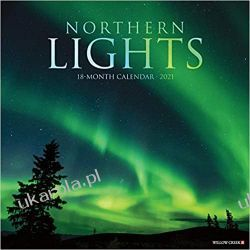 Kalendarz Northern Lights 2021 Wall Calendar Książki i Komiksy