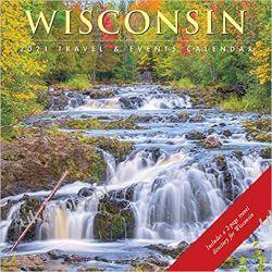 Kalendarz Wisconsin 2021 Calendar Książki i Komiksy