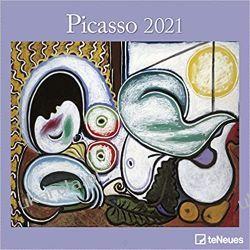 Picasso 2021 Square Wall Calendar Książki i Komiksy
