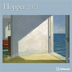 Hopper 2021 Square Wall Calendar Książki i Komiksy