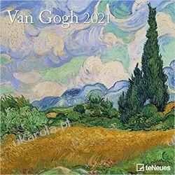 Van Gogh 2021 Square Wall Calendar Książki i Komiksy