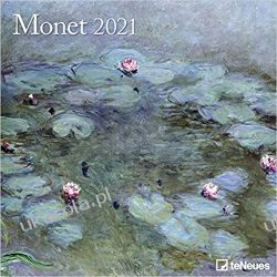 Monet 2021 Square Wall Calendar Książki i Komiksy