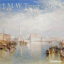 J.M.W. Turner 2021 Grid Calendar  Książki i Komiksy
