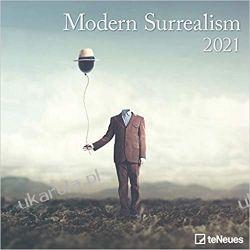 Modern Surrealism 2021 Square Wall Calendar  Książki i Komiksy
