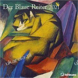 Der Blaue Reiter 2021 Square Wall Calendar Książki i Komiksy