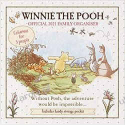 Official Winnie The Pooh (Classic) 2021 Calendar - Family Organiser Wall  Książki i Komiksy