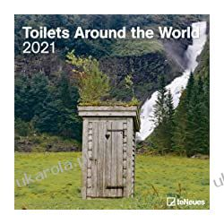 Toilets Around the World 2021 Square Wall Calendar Książki i Komiksy