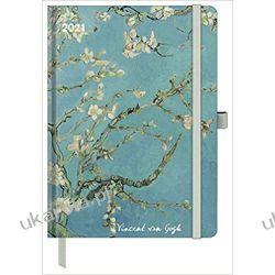Van Gogh 2021 ArtLine Diary (German) Diary – Engagement Calendar Książki i Komiksy