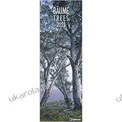 Trees 2021 King Size Calendar drzewa Książki i Komiksy