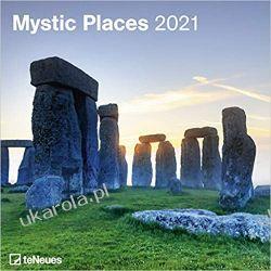 Kalendarz Mystic Places 2021 Square Wall Calendar  Książki i Komiksy