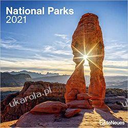 Kalendarz Parki Narodowe National Parks 2021 Square Wall Calendar Książki i Komiksy