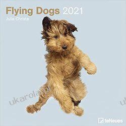 Kalendarz Latające Psy Flying Dogs 2021 Square Wall Calendar Książki i Komiksy
