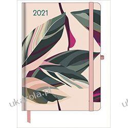 Kalendarz książkowy Floral 2021 Large GreenLine Diary Książki i Komiksy