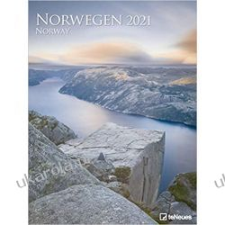 Kalendarz  Norway 2021 Poster Calendar Norwegia Książki i Komiksy