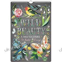 Wild Beauty 2021 Poster Calendar Książki i Komiksy