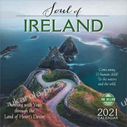 Soul of Ireland 2021 Calendar irlandia Książki i Komiksy