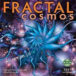 Fractal Cosmos 2021 Calendar kosmos Książki i Komiksy