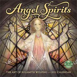 Angel Spirits 2021 Calendar anioły Książki i Komiksy