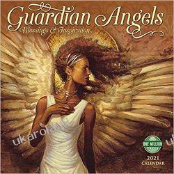 Kalendarz Anioły Guardian Angels 2021 Calendar: Blessing's & Inspiration  Książki i Komiksy
