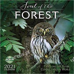Kalendarz Lasy Soul of the Forest 2021 Calendar Książki i Komiksy