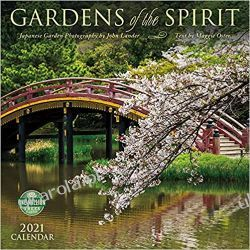 Kalendarz Ogrody Gardens of the Spirit 2021 Calendar