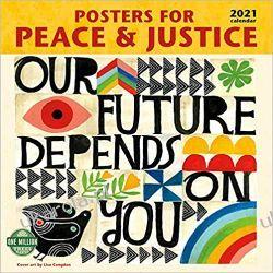 Kalendarz Posters for Peace & Justice 2021 Calenda Książki i Komiksy