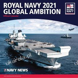 Royal Navy Calendar 2021 fmarynarka wojenna Książki i Komiksy