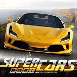Super Cars 2021 Calendar samochody Książki i Komiksy