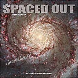 Spaced Out 2021 Calendar kosmos Książki i Komiksy