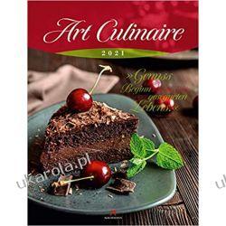 Kalendarz kulinarny Art Culinaire Kalender 2021 Calendar kuchnia