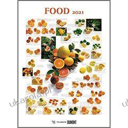 FOOD 2021 Calendar jedzenie kalendarz kulinarny Kalendarze ścienne
