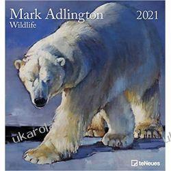 Mark Adlington - Wildlife 2021 Photo Calendar Kalendarze ścienne