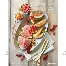 Kalendarz Gourmet 2021 Poster Calendar kulinaria potrawy Kalendarze ścienne