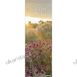 Kalendarz Gardens 2021 King Size Calendar ogrody Kalendarze ścienne