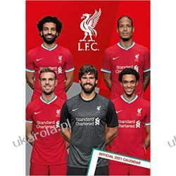 Kalendarz Official Liverpool 2021 Calendar  Gadżety i akcesoria