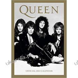 Official Queen 2021 Calendar Kalendarze ścienne
