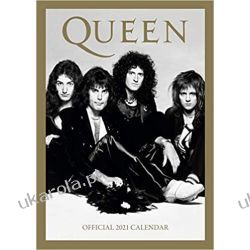 Official Queen 2021 Calendar Gadżety i akcesoria