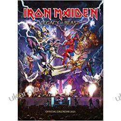 Iron Maiden 2021 Calendar  Kalendarze ścienne