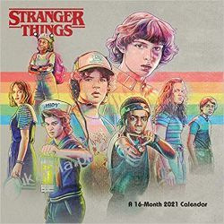 Stranger Things 2021 Calendar Kalendarze ścienne