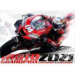 Kalendarz Moto GP 2021 Calendar Kalendarze ścienne