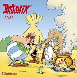 Kalendarz Asterix 2021 Square Wall Calendar Kalendarze ścienne