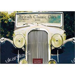 Kalendarz Samochody Brytyjskie British Classic Cars 2021 Calendar