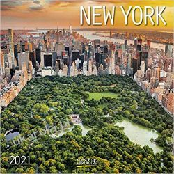 Kalendarz Nowy Jork New York 2021 NYC Calendar
