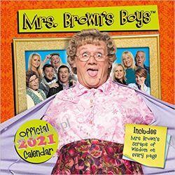 Official Mrs Brown's Boys 2021 Calendar  Pozostałe