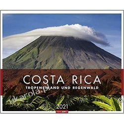 Kalendarz Kostaryka Costa Rica Kalender 2021 Calendar Książki i Komiksy
