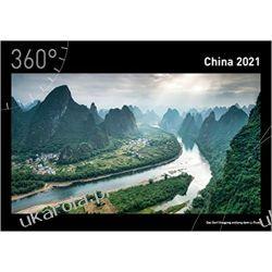Kalendarz 360° China Premiumkalender 2021 Książki i Komiksy