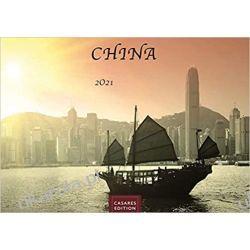 Kalendarz Chiny China 2021 L 50x35cm Calendar Książki i Komiksy