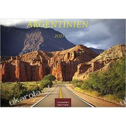 Kalendarz Argentyna Argentinien 2021 L 50x35cm Calendar Książki i Komiksy