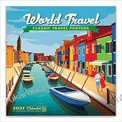 Kalendarz World Travel Classic Posters 2021 Wall Calendar